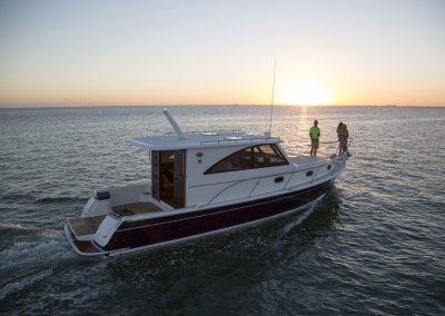 Mainship 37 lifestyle in Miami, FL.