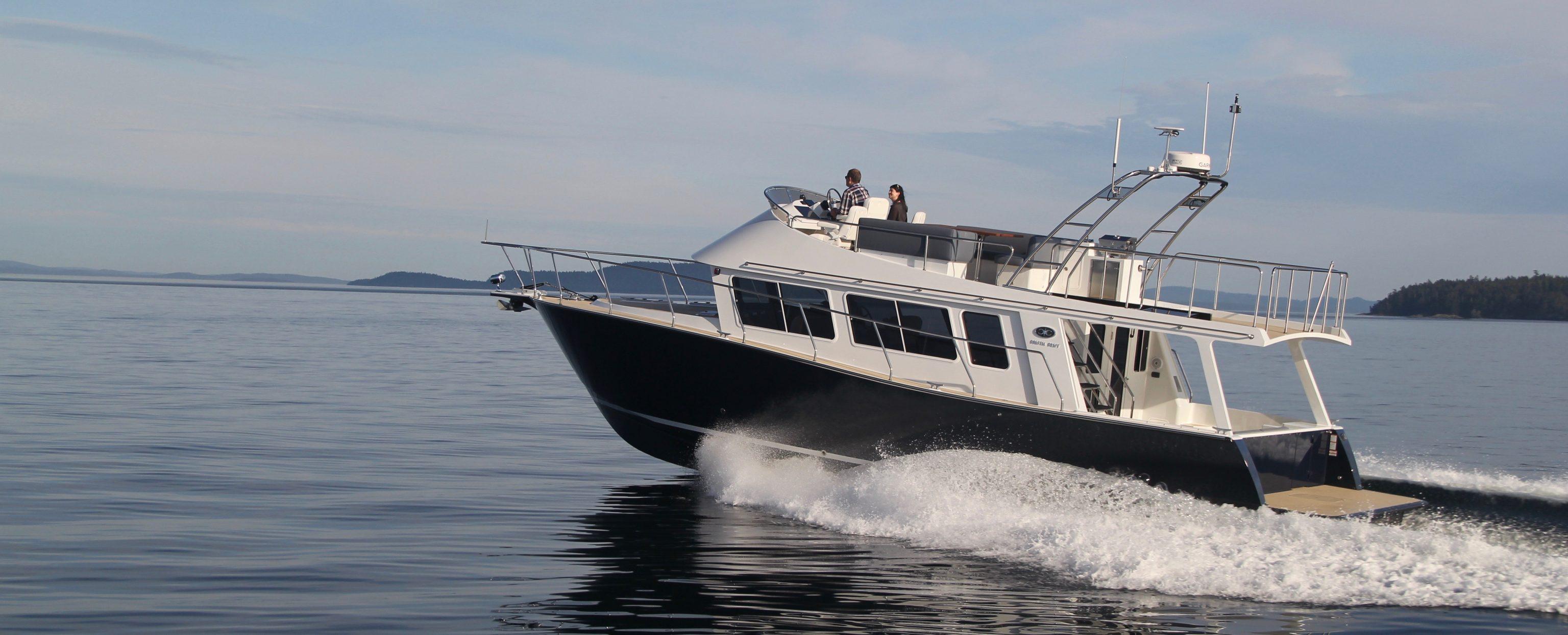 Coastal Craft 45 with Flybridge