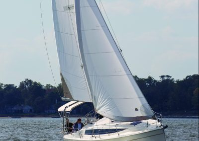 Marlow-Hunter 31 BOTY test sail, Annapolis MD