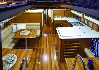Marlow-Hunter 47 at the Annapolis Sailboat Show, Annapolis MD