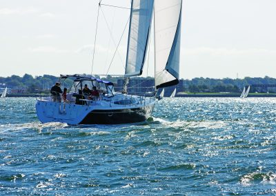 Hunter 50; Narragansett Bay, RI
