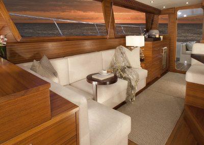 CC 56 Interior Starboard Seating