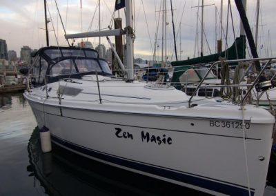 Hunter 31 – SOLD