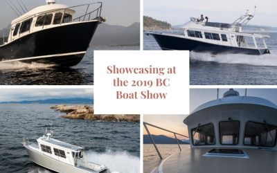 Showcasing at the BC Boat Show