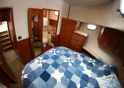Master Stateroom and Private Head