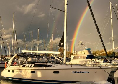 Rainbow at Dock