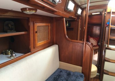 Starboard Salon into Aft Cabin